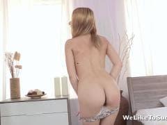 Oliva Grace, une blonde avec grosse queue - MESVIP