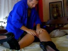 Daniela Chocolate et ses bottes noires - Porno - MESVIP