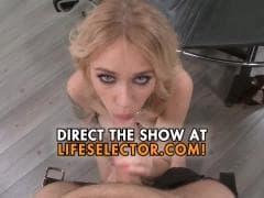 Une blonde pr�te � avaler une grosse queue - MESVIP