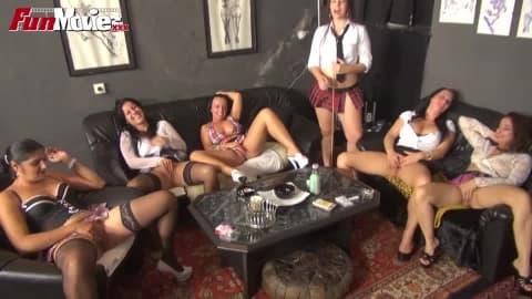 FUN MOVIES Amateur Clitoris Masturbation Class