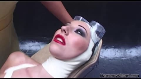 HARMONY VISION Latex Lesbians in Anal Fetish