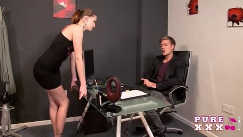 PURE XXX FILMS Casting an Hungarian Model
