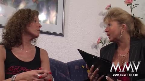 MMV FILMS Mature Lesbian Threesome- Petra Wegat