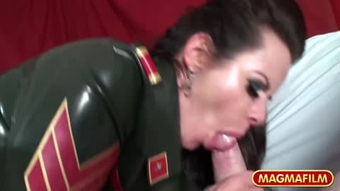 MAGMA FILM Dominatrix Kinky Threesome- Amica Bentley