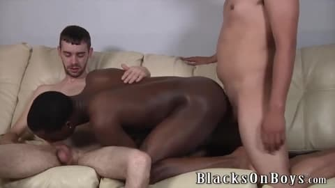 Cali Boi Gets Fucked By Two White Boys
