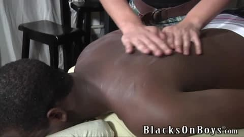 Landon Matthews Rubs And Takes A Black Cock