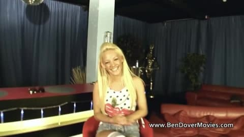 Lou Lou Petite with old Ben Dover