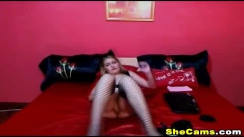 Horny Feline Ladyboy Meows and Teases on Cam