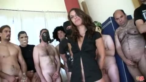 video porno gang bang