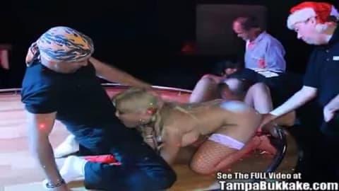 video porno gang bang