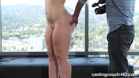 Casting a Brunette First Timer