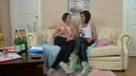 lesbian strapon teen anal