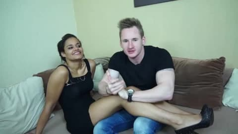 MAGMA FILM Berlin Interracial Amateur Couple- BETTY, SASCHA