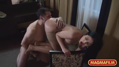 MAGMA FILM Anal Bondage- Julia De Lucia