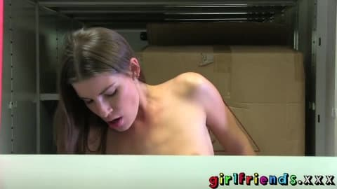 [Girlfriends]   Secret Lesbian Sex at Work Porn