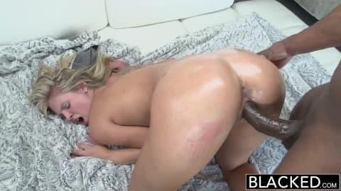 [Blacked] Preppy Scarlet Red Loves Big Black Dick HD Porn