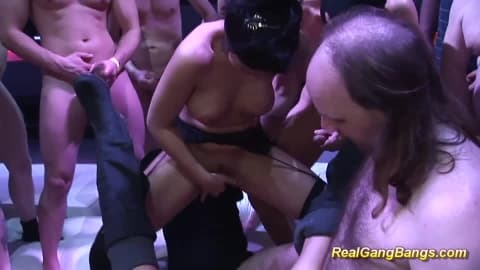 extreme hot gangbang party