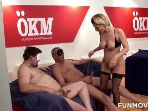 Une amatrice tourne un porno
