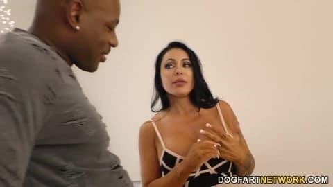 Cougar Simone Garza's First Time BBC Anal