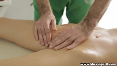 Massage-X – Passionate massage table fuck