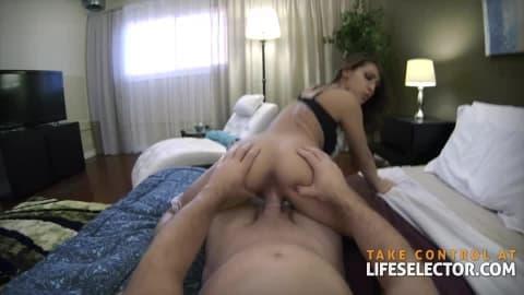 Sara Luvv – Sexy Brunette Loves Dick